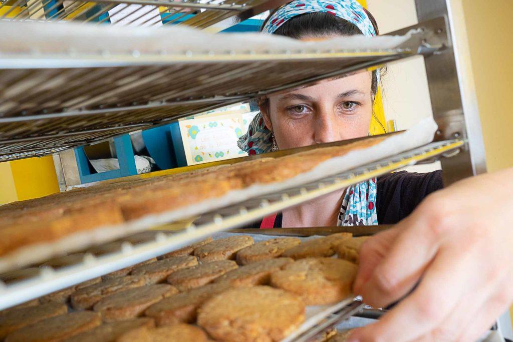 préparation pate biscuits bio